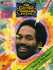 The Electric Company Magazine April/May 1975 O.J. Simpson