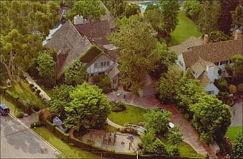 OJ Simpson Estate: 360 N Rockingham Ave in Los Angeles, California. OJSimpson.co