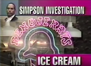 Ben And Jerrys Investigation by KNBC 1994 Nicole Brown Simpson Ice Cream OJ Simpson OJSimpson.co