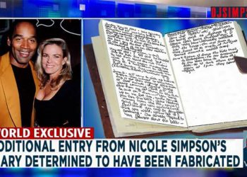 Nicole Brown Simpson Diary Forged OJ Simpson OJSimpson.co