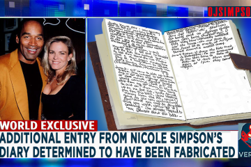 Nicole Simpson Diary Forged