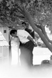 OJ Simpson Handcuffed by LAPD at his home, 360 N Rockingham, on June 13 1994 OJSimpson.co