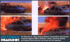 Dateline NBC General Motors Exploding Truck