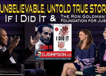 If I Did It and Ron Goldman Foundation for Justice OJ Simpson OJSimpson.co