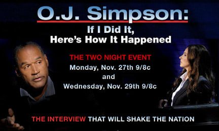 FOX OJ Simpson If I Did It Special OJ Simpson OJSimpson.co