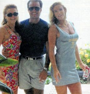 Keith Zlomsowitch Nicole Brown Simpson and Friend in 1992