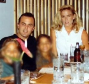 Keith Zlomsowitch and Nicole Brown Simpson in 1992.