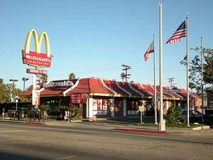 The McDonald's on Santa Monica Blvd that OJ Simpson and Kato Kaelin went to on June 12, 1994. OJSimpson.co