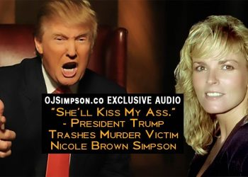 Donald Trump Attacks Nicole Brown Simpson, ex-wife of OJ Simpson on Howard Stern Show OJSimpson.co