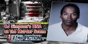 OJ Simpson DNA at the Bundy Murder Scene